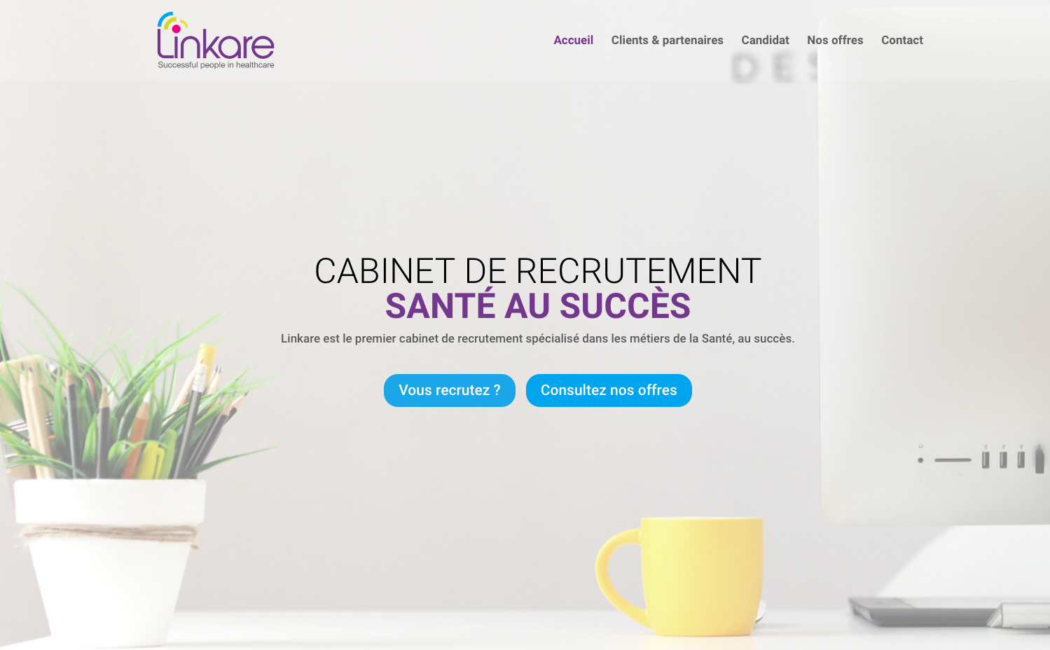 Linkare consulting cabinet de recrutement sant au succ s - Cabinet de recrutement levallois perret ...